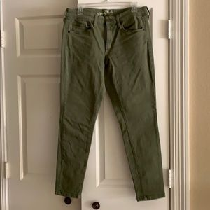 Target Universal Thread Army Green Mid-rise Skinny